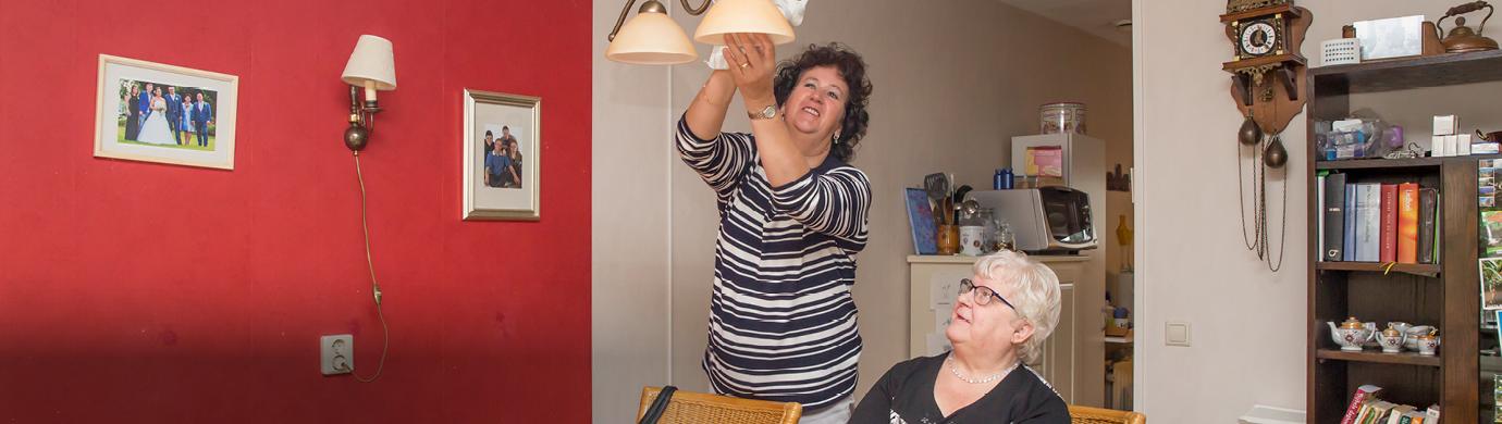 Allévo staat ook naast mevrouw van der Laan